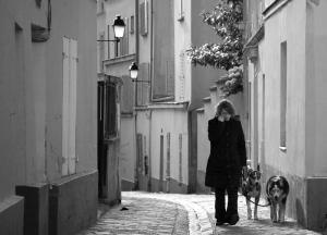 Street near Sacre Coeur